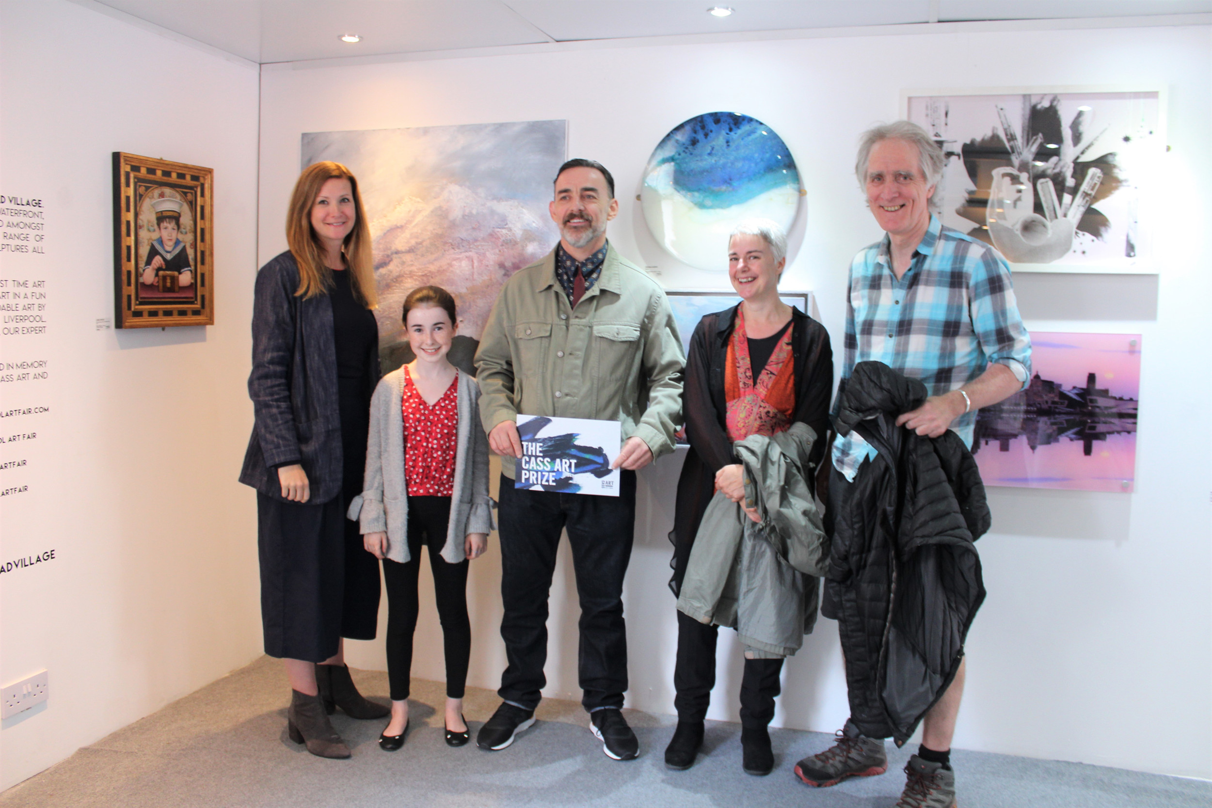Liverpool Art Fair 2018 Peoples Choice Award