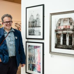 Photographer Chris Routledge - Liverpool Art Fair 2019