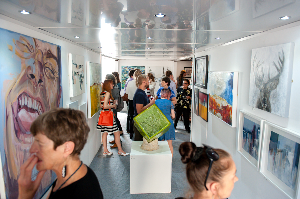 Annual erotic art exhibition festival weekend can