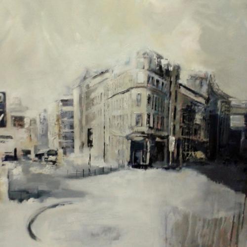 Clare Flinn - View Down Whitechapel