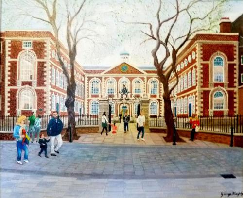 George Murphy - Spring Time at The Bluecoat