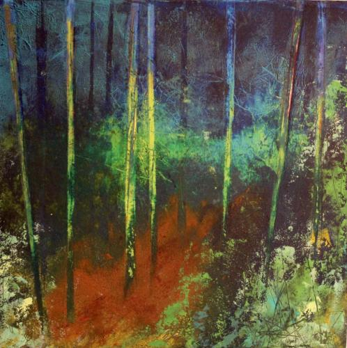 Hilary Dron - Mid Woods Twilight