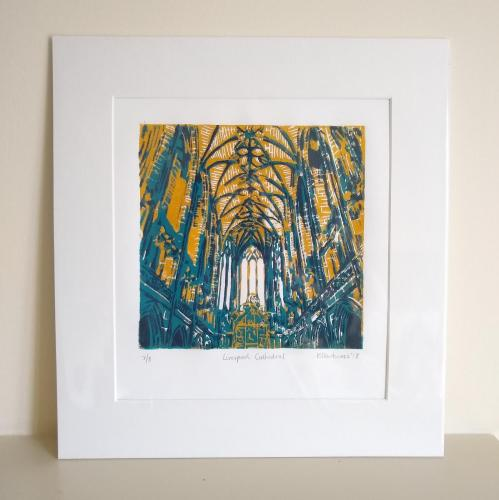 Karen Harkness - Liverpool Cathedral Yellow