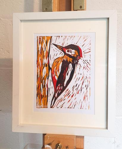 Katherine Riley - Lesser Spotted Woodpecker