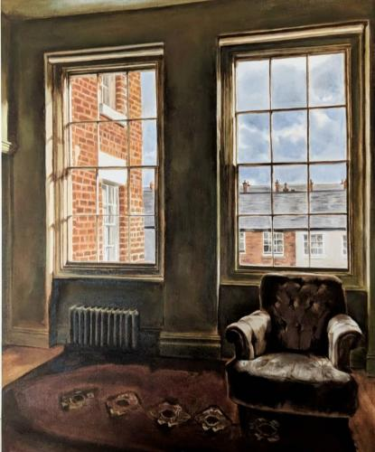 Lorna Morris - Interior with Two Windows