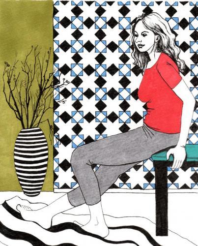 Sue Watson - The patterned Wall